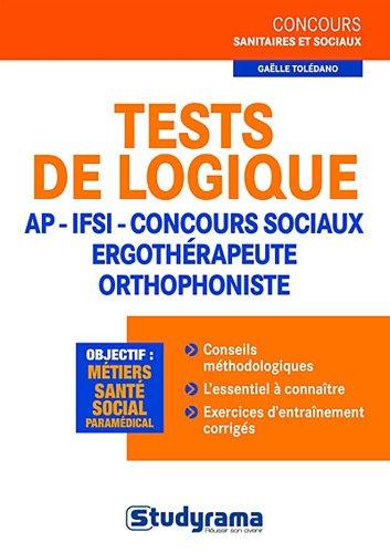 Tests de logique AP - IFSI - concours sociaux - er...