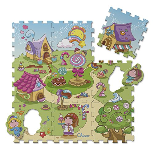 Chicco Puzzle Matten Candy, 9-teilig