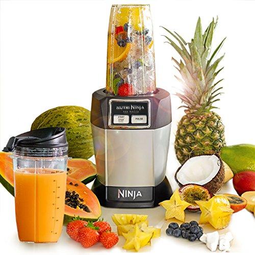 Ninja Nutri Pro Complete Personal Blender 900W – BL470UK – Silver