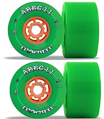 ABEC11 Flywheels Longboard Rollen Set (4stk.) 97mm 75a