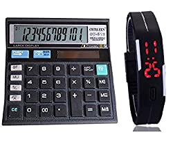 CT-511 CALCULATOR WITH FREE DIGITAL WATCH-304