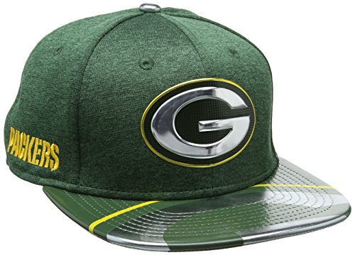 New Era Herren Baseball Cap Nfl 2017 Official On Stage 9fifty Green Bay Packers
