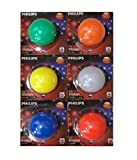 Best Philips Light Bulbs - Philips 0.5 Decomini Multicolor (Pack Of 6) Review
