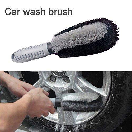 amaoma de brosse de lavage Brosse Brosses de pneus de camions de jantes avec une brosse brosse de lavage Brosse Brosses Brosse de lavage voiture/camion 25* 7cm