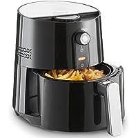 VonShef Friteuse sans Huile à Air Chaud 1300W 2,5L - Alternative saine aux friteuses classiques - avec thermostat réglable - sans matières grasses