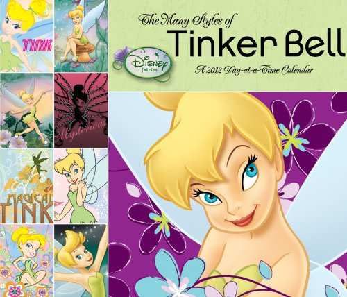 Disney Tinker Bell 2012 Day At A Time Box Calendar by DateWorks (2011-08-01) - Bell Tinker Kalender
