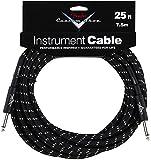 Fender 099-0820-039 Custom Shop  7.5m Inst Cable Black Tweed