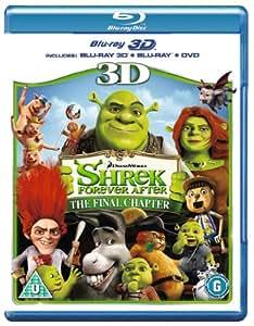 Shrek Forever After 3D (Blu-ray 3D + Blu ray + DVD) [2010]
