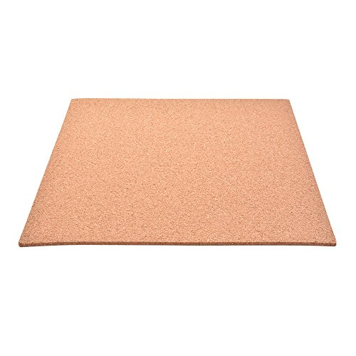 300*300*3mm Heat Bed Thermal Hotbed Insulation Square Pad Plate with Cork Glue for MK2 MK3 3D Printer Square Hot-pad