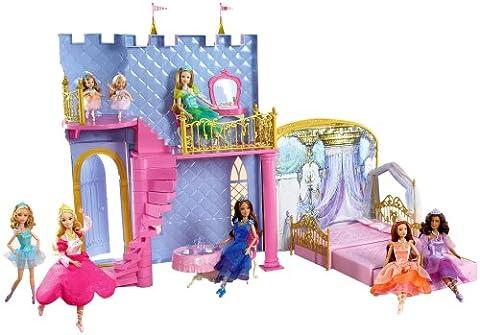 Mattel - Poupées - Barbie le château du bal