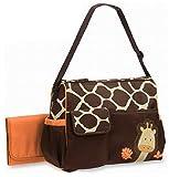 Baby Windel Wickeltasche Mutter Handtasche Giraffenmuster Nappy Changing Orange