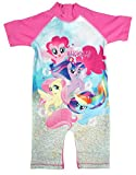 Girls My Little Pony Sunsafe All In One Swimsuit Surf Swim...
