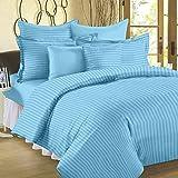 Jaipur Linen Classic Duvet Cover - King Size - Premium Cotton - Duvet / Quilt / Comforter cover- 91 x 101 inches (Sky Blue)