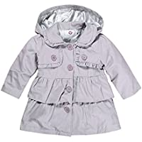 CHIC-CHIC Toddler Baby Girls Hooded Trench Coat Princess Autumn Windbreaker Jacket Outwear