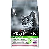 Purina Proplan - Croquettes Haut de Gamme pour le Bien-Etre des Chats Castrés ou Stérilisés - Saumon - Pack de 3 Kg