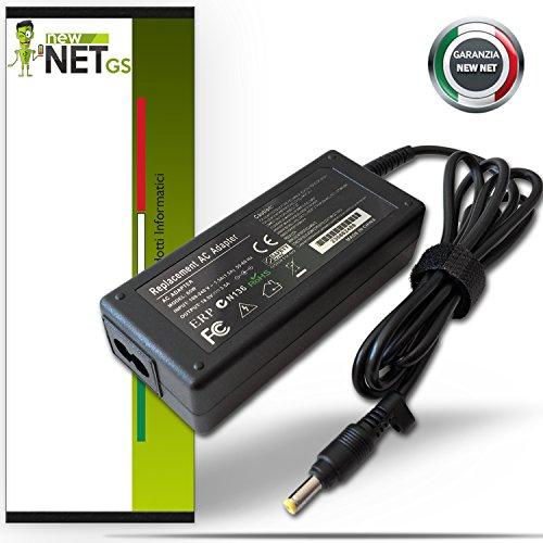 Netzteil Ladegerät Netzteil für PC Notebook COMPAQ PRESARIO V5204NR 18,5V–3,5A–65W EXT 4,8mm–Int 1,7mm Newnet -