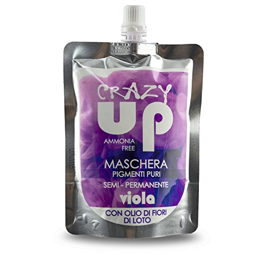 Crazy Up Maschere Capelli Viola 200 ml