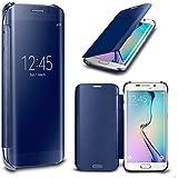 N4U En ligne - Luxury Miroir Intelligent Affichage Transparent étui rabattable Pour Samsung Galaxy S6 & S6 EDGE