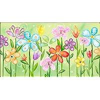 Toland Home Garden Spring Blooms 20 x 38-Inch Decorative USA-Produced Anti-Fatigue Standing Desk Comfort Designer Mat by Toland Home Garden