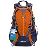 EGOGO 30L Outdoor Cycling Hiking Water-resistant Backpack Running Camping Daypack with Rain Cover