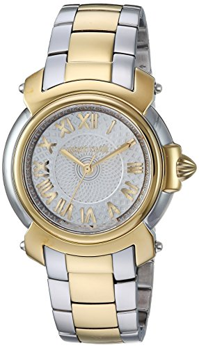Roberto Cavalli by Franck Muller Women's Swiss Quartz Stainless Steel Casual Watch, Color:Two Tone (Model: RV1L005M0076)