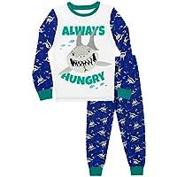 Harry Bear Boys Shark Pyjamas Snuggle Fit