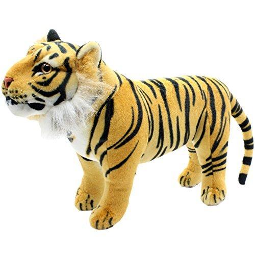 TAGLN Animales de peluche Tigre Juguete de peluche 45 CM (Marrón)