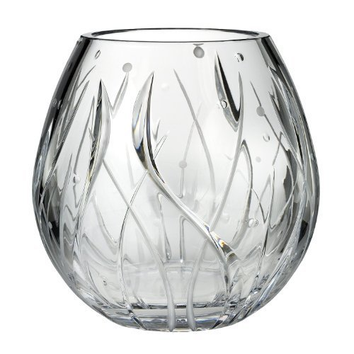 Michael Aram for Waterford Fathom 8-Inch Bouquet Vase by Waterford Crystal Michael Aram Waterford