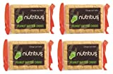#5: Nutritius Peanut Butter Chikki, 500g (4 Packs of 125g Each)