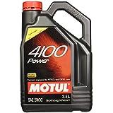 Motul 4100 SAE 5W30 API SM HC Tech Engine Oil for Bikes 3.5L