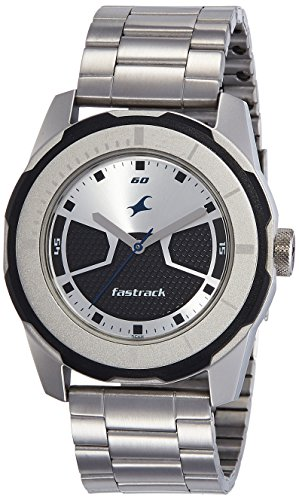 Fastrack Economy 2013 Analog Multi-Color Dial Men\'s Watch - 3099SM02