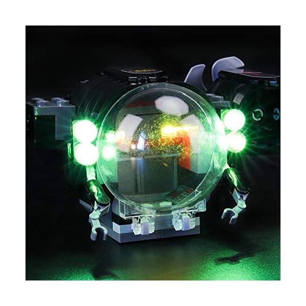 BRIKSMAX Kit di Illuminazione a LED per Lego Super Heroes Batsub di Batman e Il duello Sottomarino,Compatibile con Il… 4 spesavip