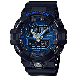 Casio G-Shock Analog-Digital Blue Dial Men's Watch – GA-710-1A2DR (G739)