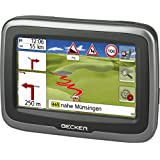 Becker mamba.4 CE Motorcycle LMU (Non-Glare System 10.9 CM (4.3-Inch) Display, Central Europe 20 countries winding roads, free Lifetime MAP Updates Black)