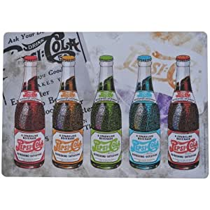 Set de Table Pepsi Canettes Pop Art Pub Retro Vintage USA