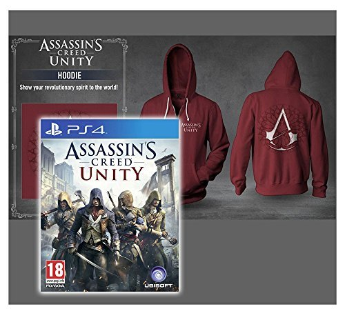 Assassin's Creed Unity Hoodie (Original by Ubisoft) Größe L