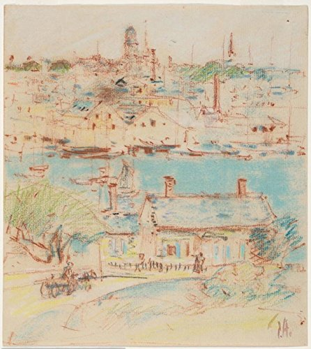 Das Museum Outlet-Gloucester, innere Hafen, 1899-A3Poster