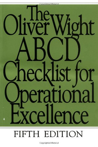 Free The Oliver Wight ABCD Checklist for Operational