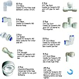 Plastic Water Purifier Complete Connector Type Item Elbow, Tee, Locks and Taflone Tape -