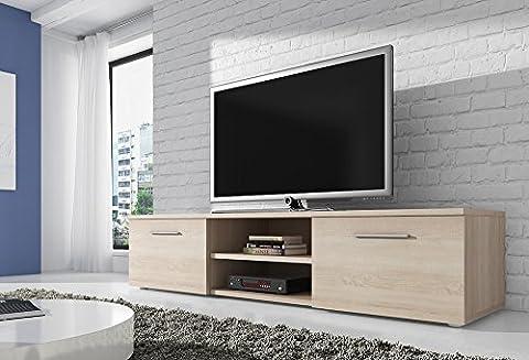 TV Unit Cabinet Stand Vegas 150 cm Light Oak (Sonoma)