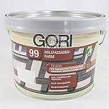GORI 99 Holz- und Fassadenfarbe 3165 Ocker, 2,50 Liter