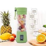WideWings Mixer juicer Grinder by Leeonzi|Juice Blender Machine|USB juicer Bottle Blender Mixer | Fruit Juice Maker | Fruit juicer | Fruit juicer for Soft Fruits (Multi-Color)