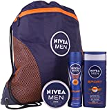 Nivea Men Sports Plus Gift Set - 3-Piece by Nivea for Men
