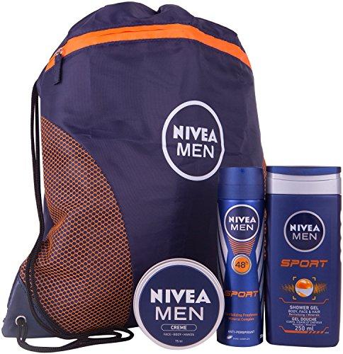 Nivea for Men Nivea Men Sports Plus Gift Set for Mens - 3 Pieces
