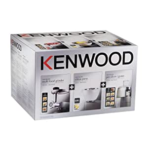 Kenwood MA350 Kit 3 accessoires AT950 + AT340 + AT312 pour robot Chef et Major