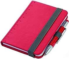 Troika Notizblock Tagebuch DIN A7 inkl Kugelschreiber Lilipad NPP25 RD   19