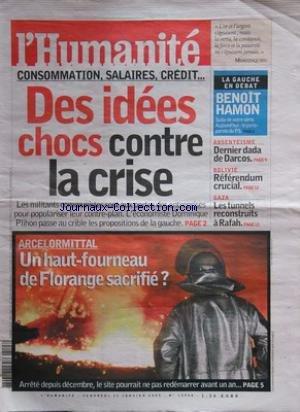 humanite-l-no-19994-du-23-01-2009-consommation-salaires-credit-des-idees-chocs-contre-la-crise-arcel