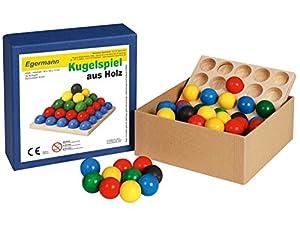 Egermann Apilamiento de Juego de Pelota Juego de Pelota de Madera de Juegos, Juguetes de niño - / 2 EH224