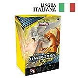 Pokémon Sole e Luna: Legami Inossidabili - Sfida Strategica Prerelease Pack in Italiano - 4 Buste + 1 Busta Evoluzione da 23 Carte + Carta Promozionale