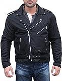 German Wear, Chopper Motorradjacke Rockabilly Rockerjacke Brando Motorrad Textilien Jacke,...